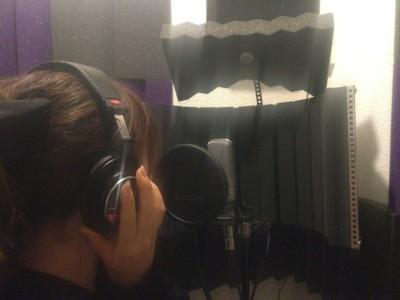 五龍姫のレコーディング